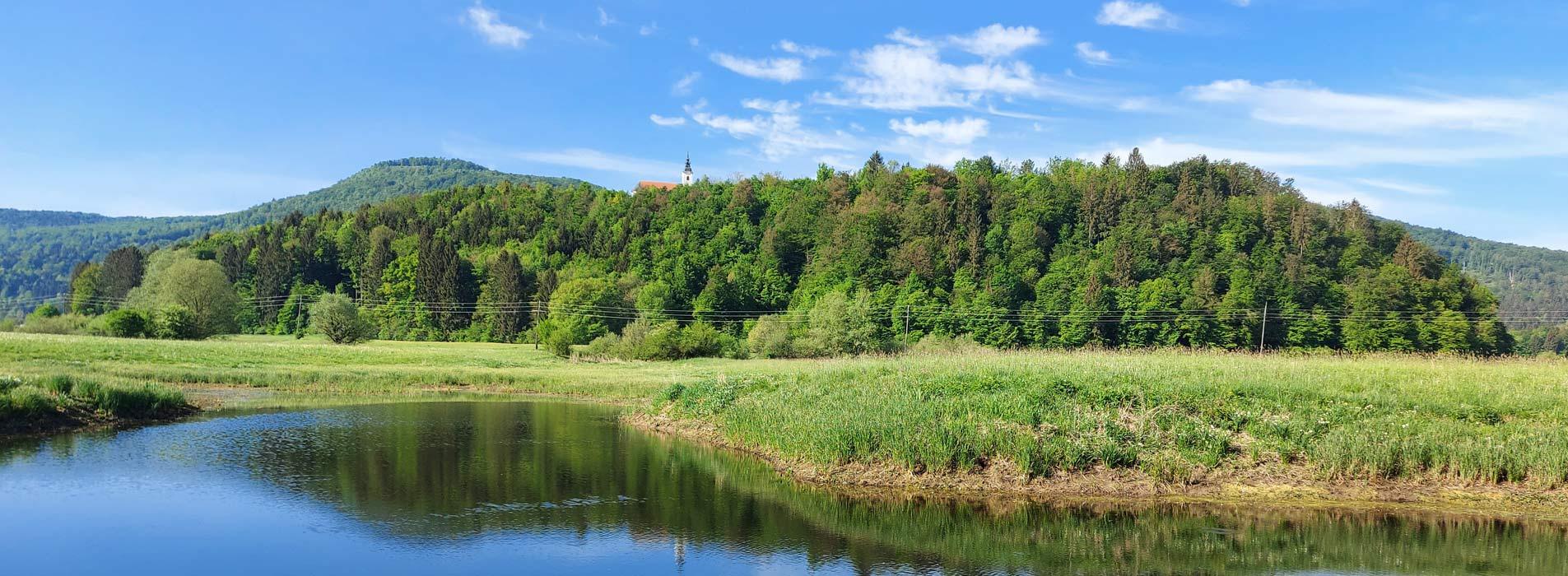 Radensko Polje Landscape Park (Slovenia)